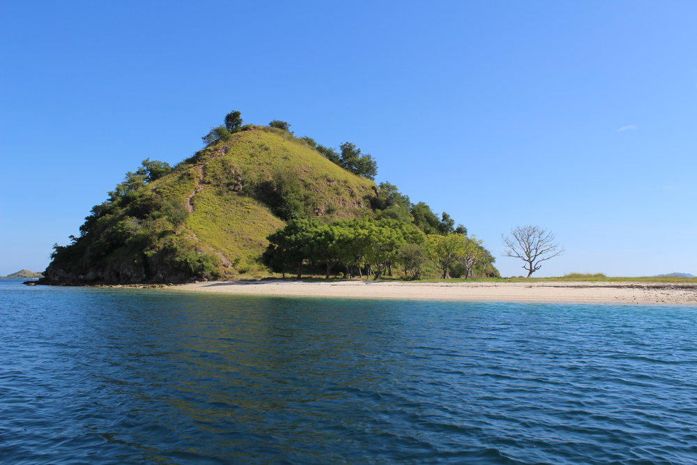 Kelor is a small island where you can get an incredible view of the surrounding Komodo islands