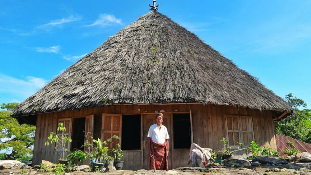 Ruteng has a unique traditional house that can be seen around the area