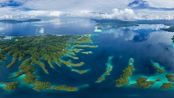 A series of islands in Indonesia