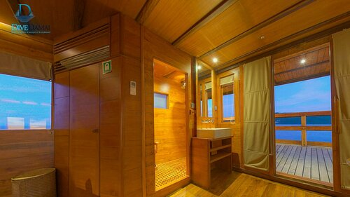 Damai II liveaboard gives you an amazing private cabin