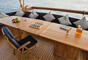 Outdoor area Mantra liveaboard