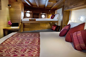 Comfortable bedroom to rejuvenate your body - Mantra Liveaboard