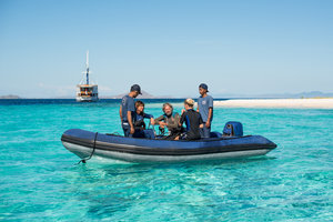 Enjoy water activity while journey with Ocean Pure Liveaboard