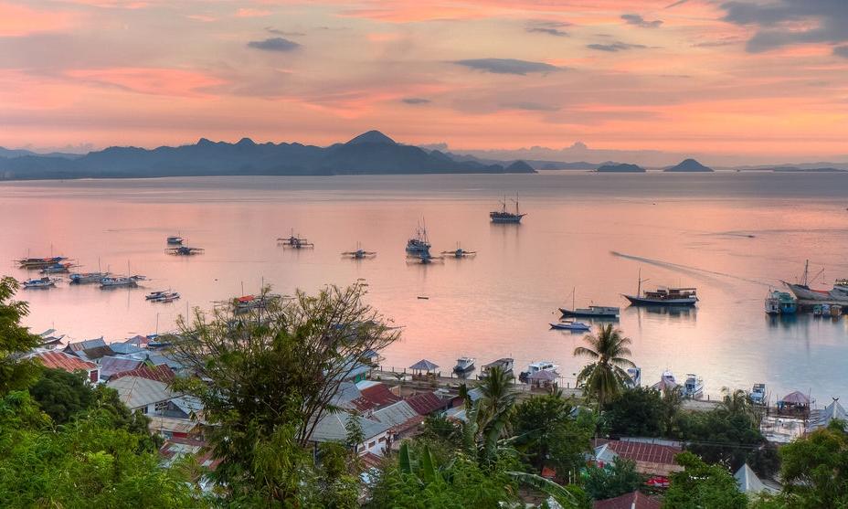 Sunset at Labuan Bajo