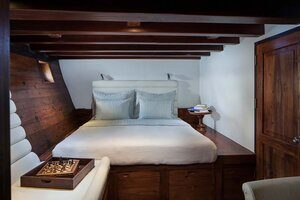 Samata main bedroom while cruise to Flores