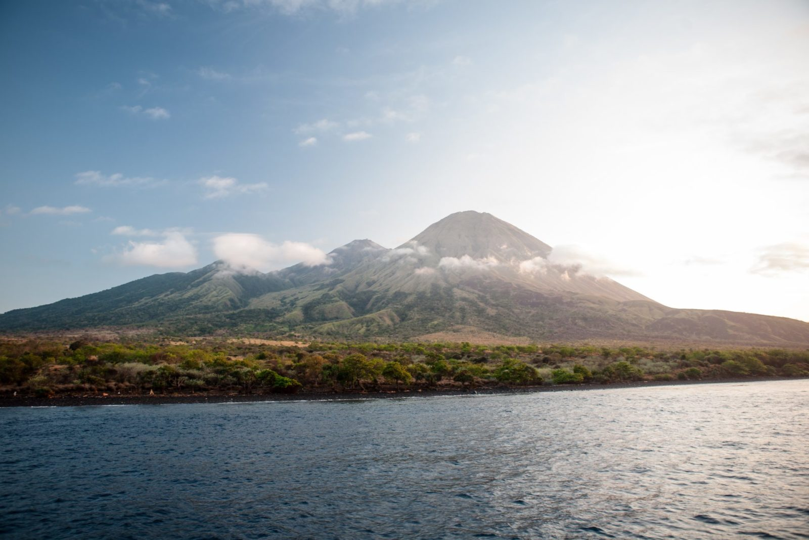 Explore mount Sangeang volcano with Hello Flores