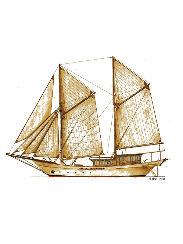 The brief history of Phinisi boat