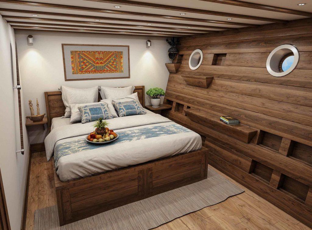 Downstair cabin Aliika liveaboard | Hello Flores