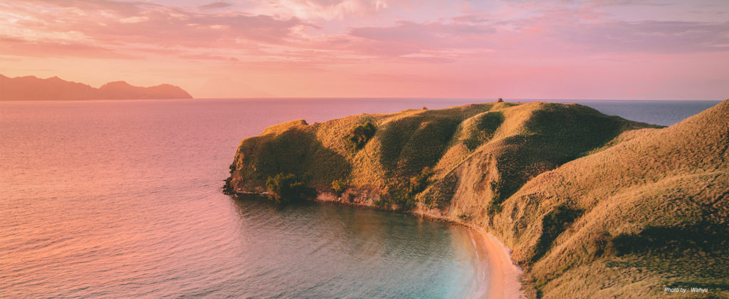 A Very Pink Sunset at the Pink Beach