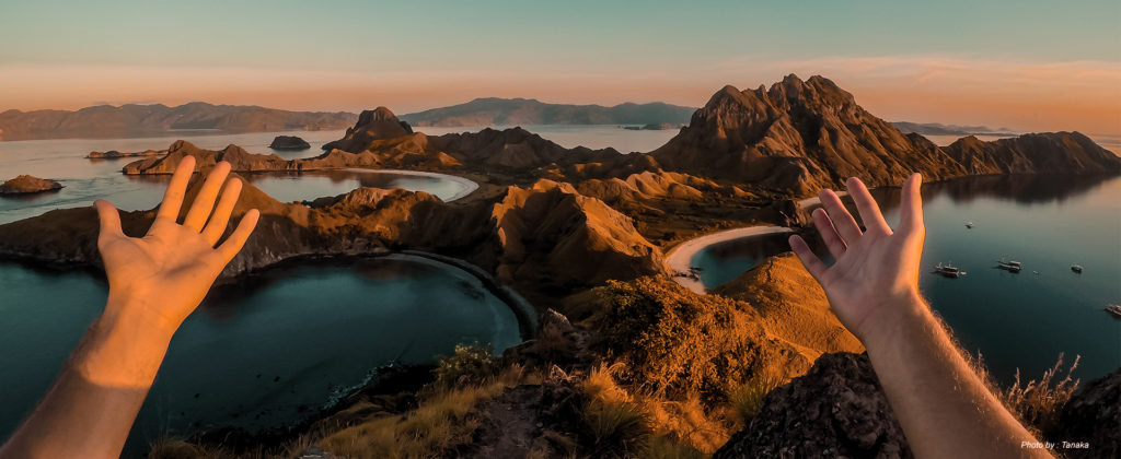 A Glowing Sunset at the Marvellous Padar Island