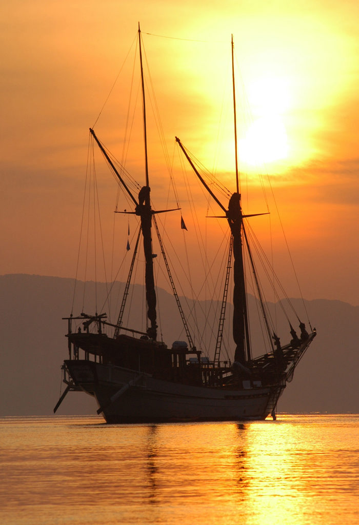 Best Place to See Sunset in Komodo National Park